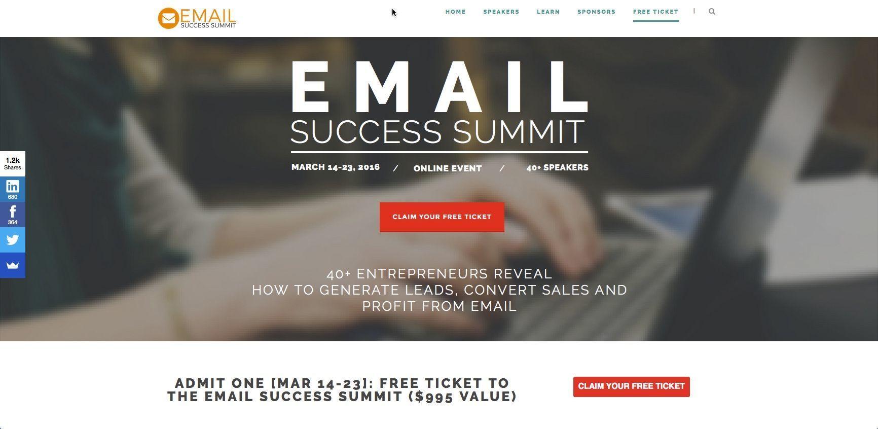 emailsuccesssummitbanner